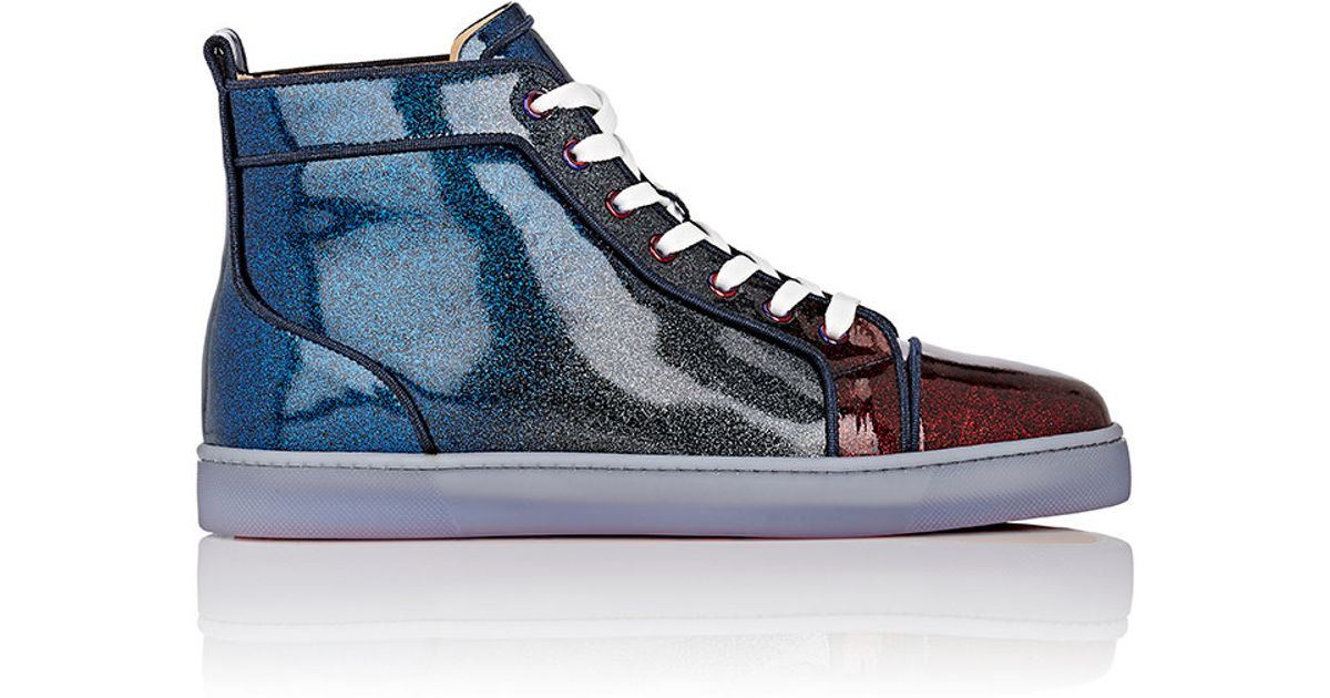 designer fashion 18092 092ad Christian Louboutin Blue Men's Louis Orlato Sneakers for men
