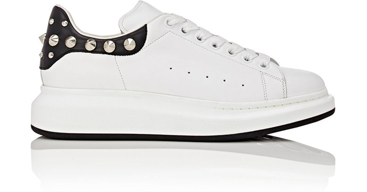 a146ecb3d420 Lyst - Alexander McQueen Studded Oversized-sole Low in White for Men