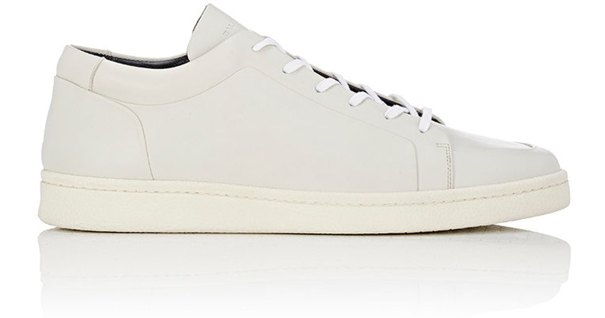 balenciaga low top sneakers in beige for men white lyst. Black Bedroom Furniture Sets. Home Design Ideas