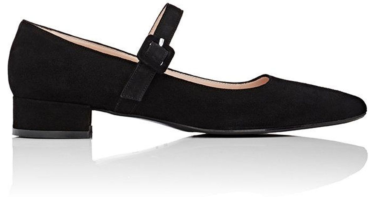 Barneys New York Suede Mary Jane Flats fashionable for sale cheap get to buy clearance with paypal finishline online outlet affordable CWP5ELV0i