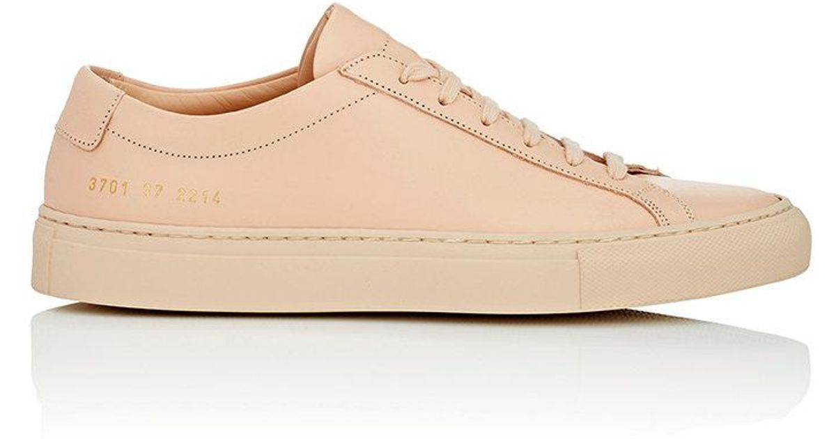 7bd01799a59e Lyst - Common Projects Original Achilles Leather Sneakers in Natural