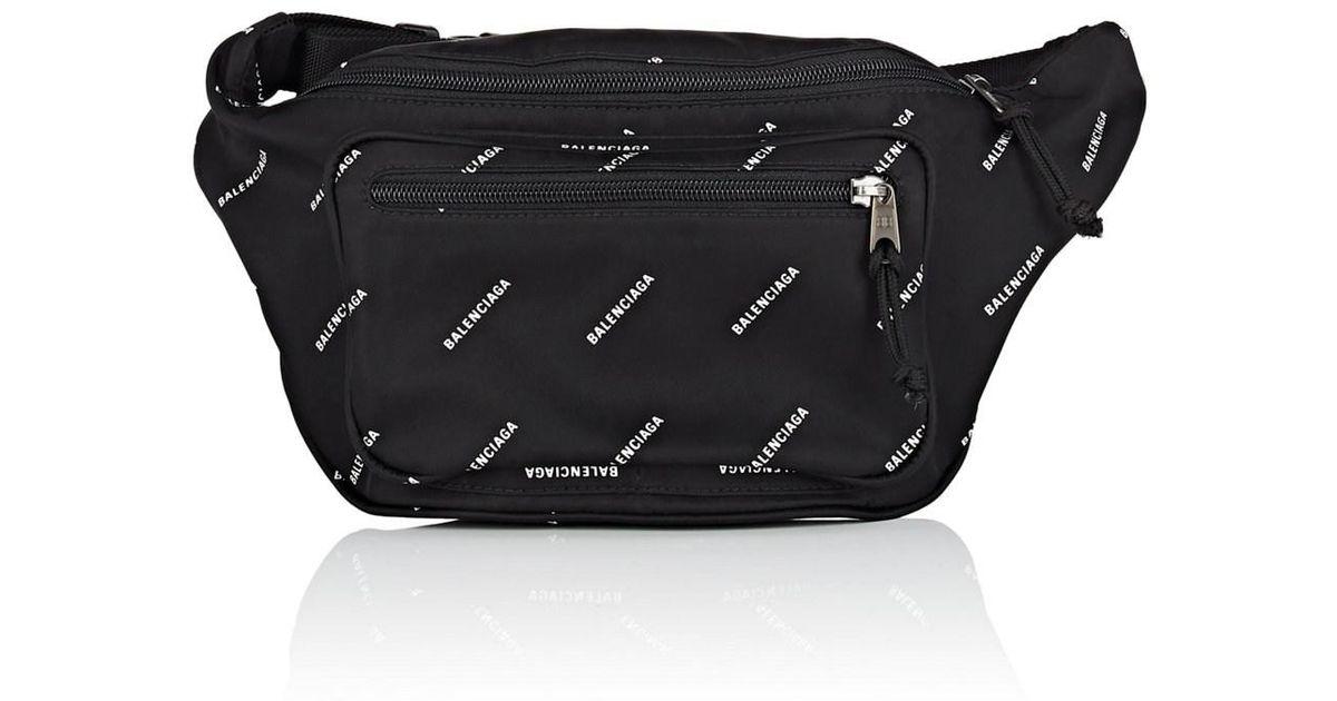 abac59facb7efe Balenciaga Explorer Belt Bag in Black for Men - Lyst