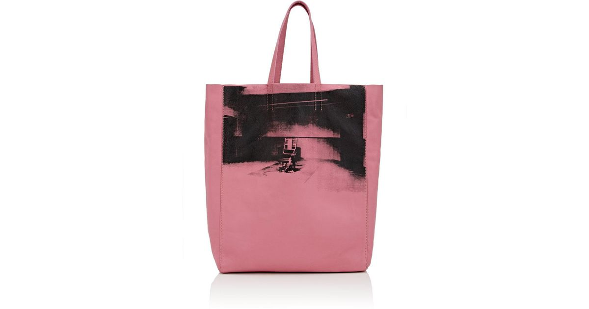 67a22c8dff CALVIN KLEIN 205W39NYC X Andy Warhol Tote Bag in Pink - Save 75% - Lyst