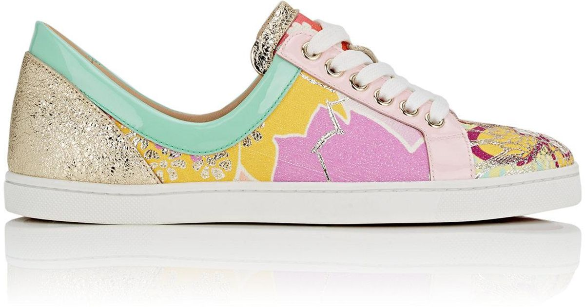 f09a85a8164 Christian Louboutin Blue Flamingirl Sneakers