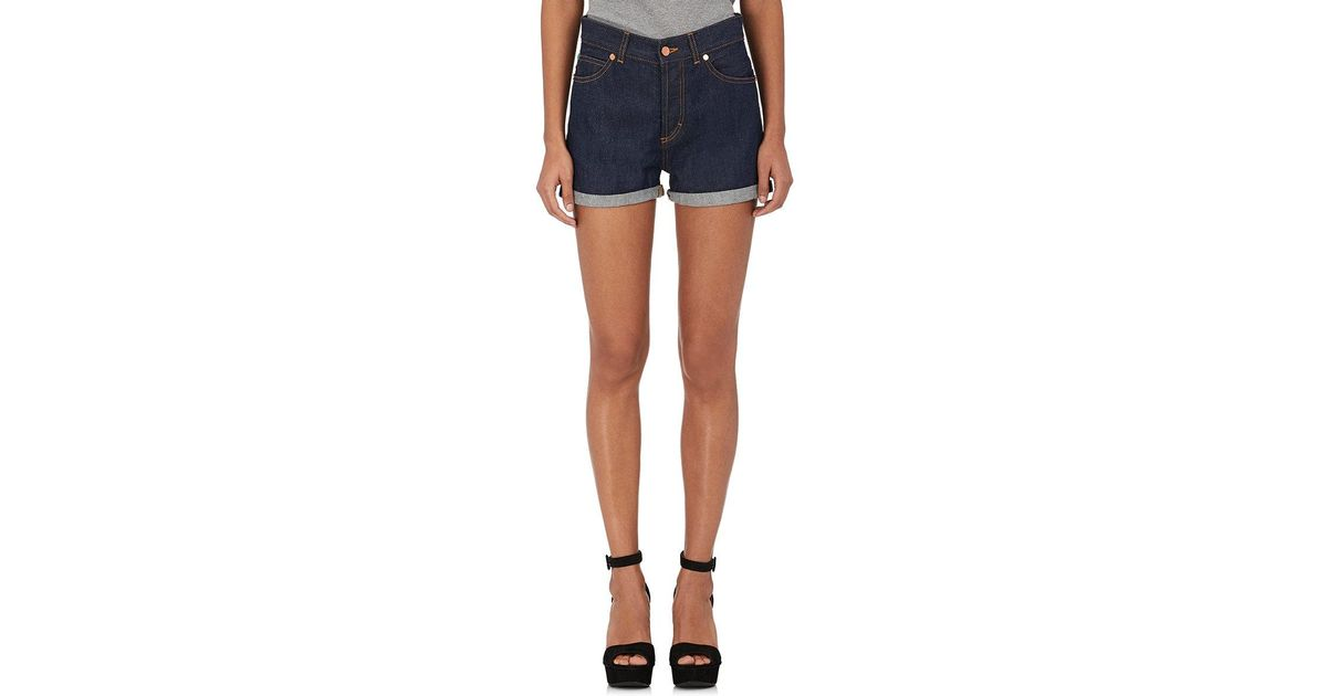 Fiorucci Clean Denim Shorts in Blue