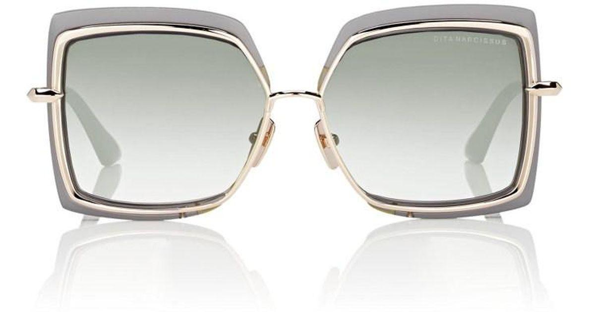 47db477b3431 DITA Narcissus Sunglasses in Gray - Lyst