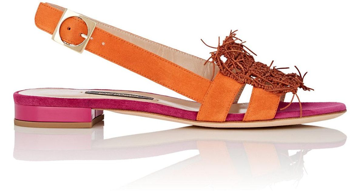 Womens Domenic Suede & Leather Sandals Zac Posen J0wEDiWSI