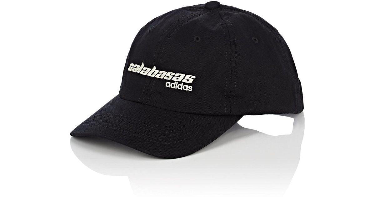 Lyst - Yeezy calabasas Adidas Cotton Baseball Cap in Black for Men 369b1163e11c