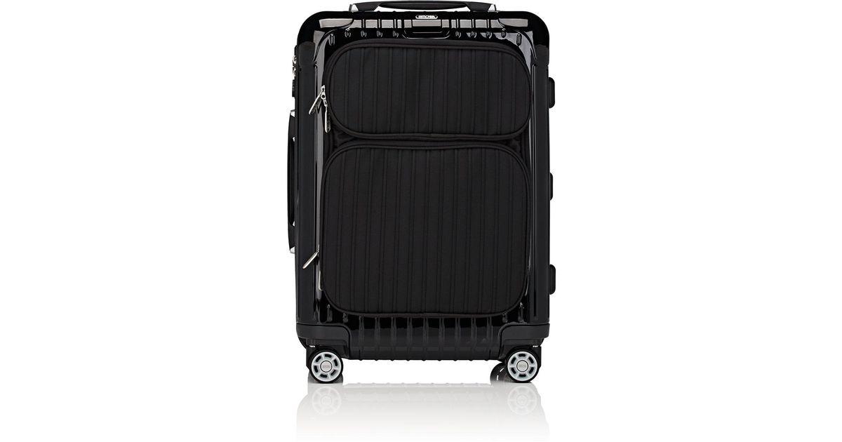 Lyst   Rimowa Salsa Deluxe Cabin Multiwheel® Hybrid 22 Suitcase In Black