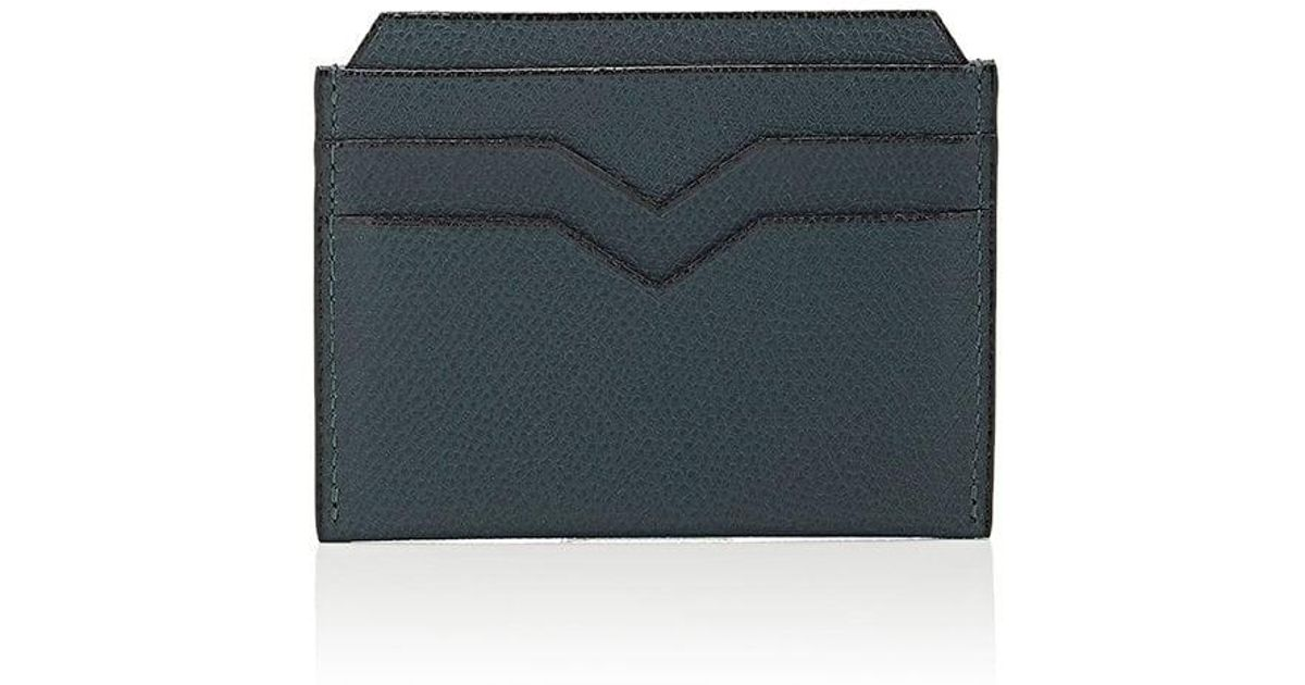 07405047162 Valextra Card Case in Green - Lyst