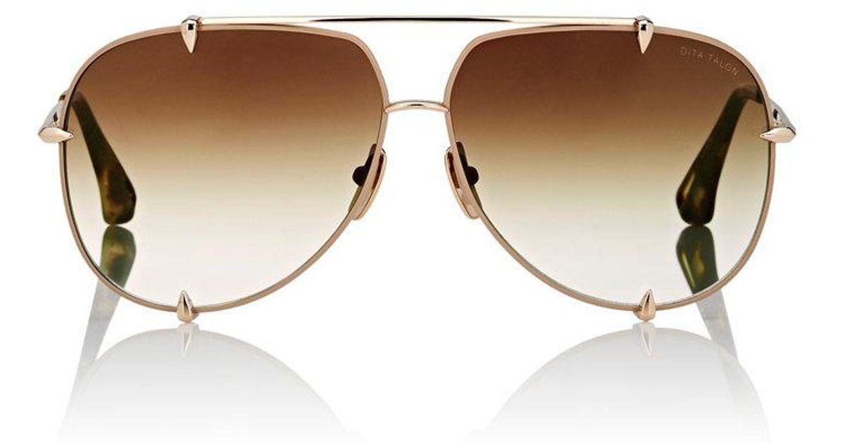 1edd612441 Lyst - Dita Talon Sunglasses in Brown