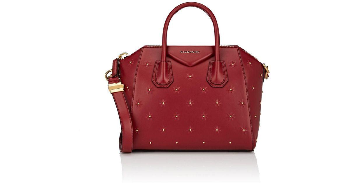 Givenchy Antigona Midnight Stars Small Duffel Bag in Red - Lyst 704d09878010c