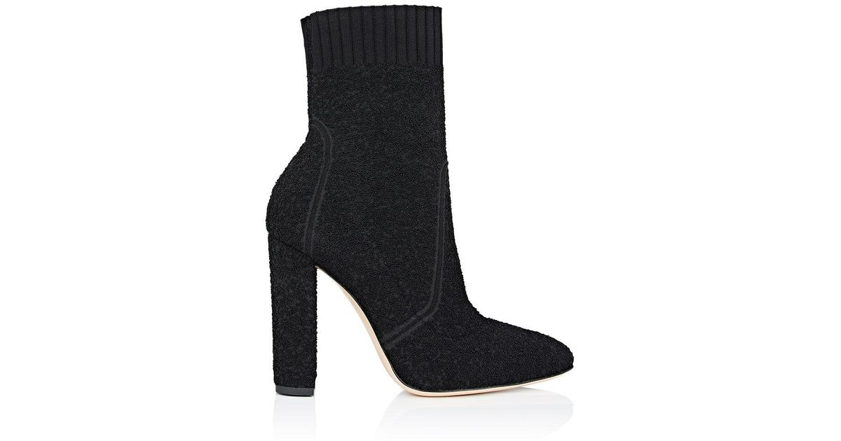 Black Boucle Ankle Boots Gianvito Rossi YXr0N