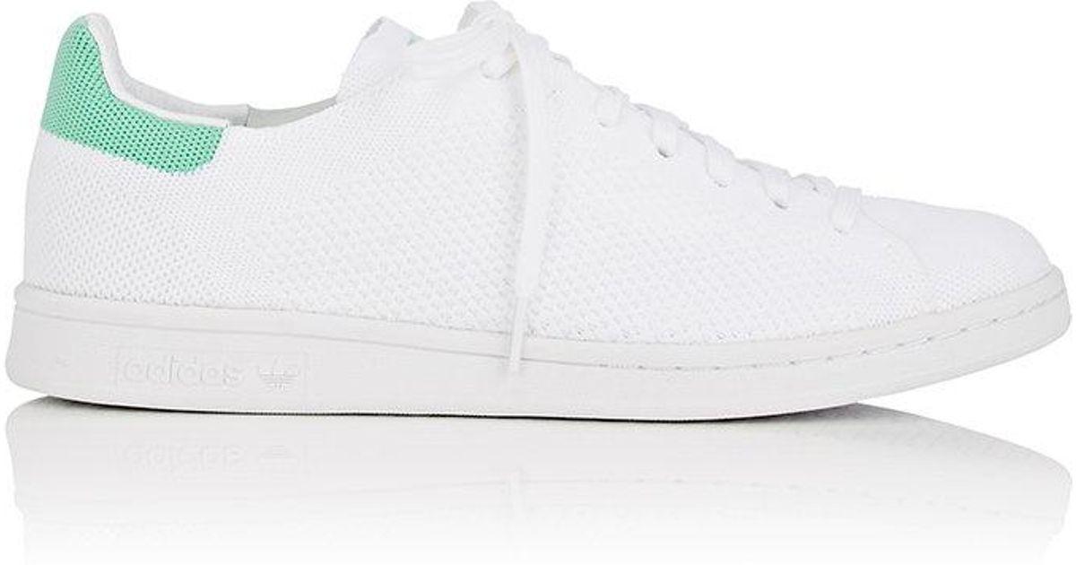 timeless design 0884c 997ce Adidas White Stan Smith Primeknit Sneakers