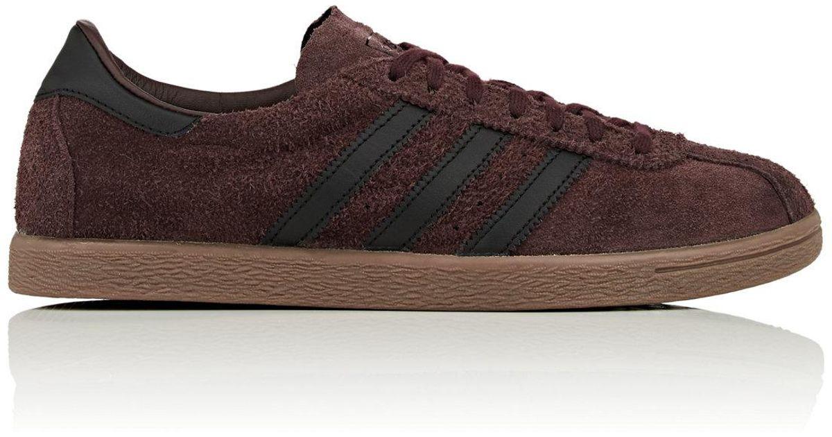 adidas brown suede sneakers