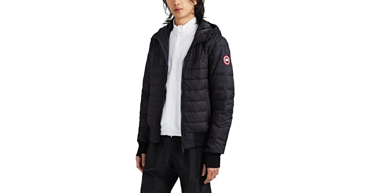 2c3195e5c493 Canada Goose Cabri Quilted Ripstop Hooded Jacket in Black for Men - Lyst