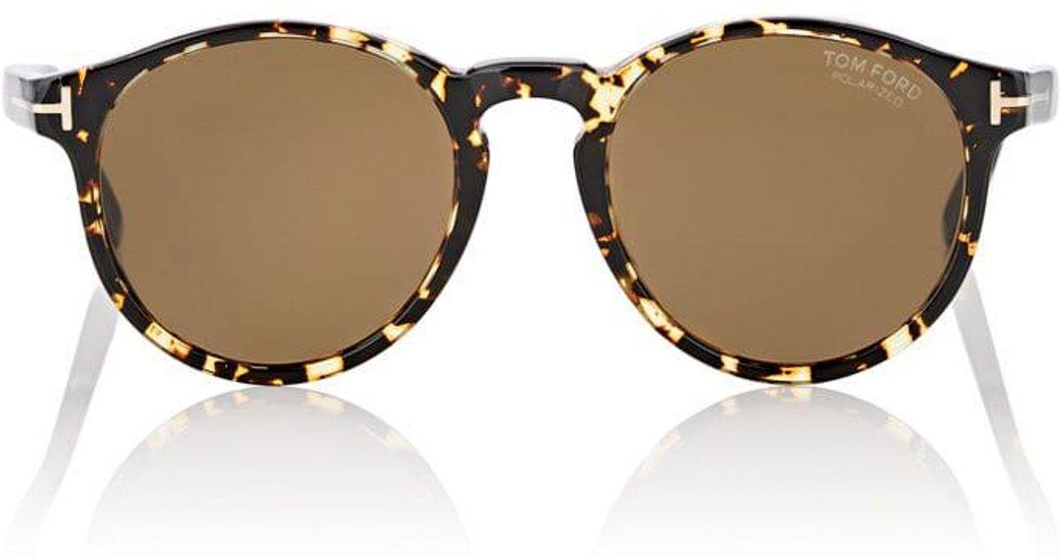 603edacef2fa Tom Ford Ian Sunglasses for Men - Lyst