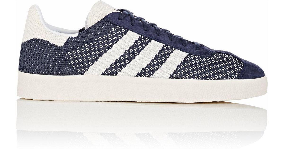adidas Gazelle Primeknit Sneakers in Blue for Men - Lyst 070a2609b