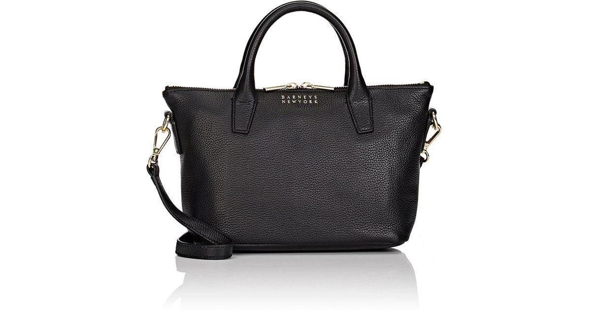 Barneys New York Womens Monica Mini Leather Crossbody Bag yPEJoY4