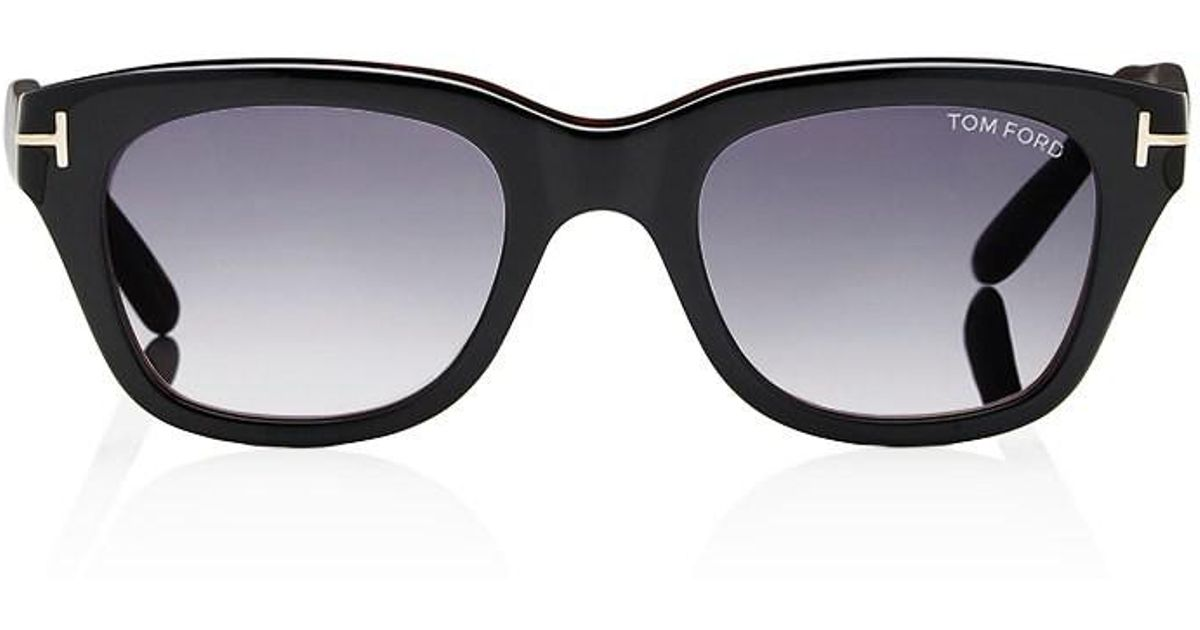 ab6683560c94 Lyst - Tom Ford Snowdon Sunglasses in Black for Men