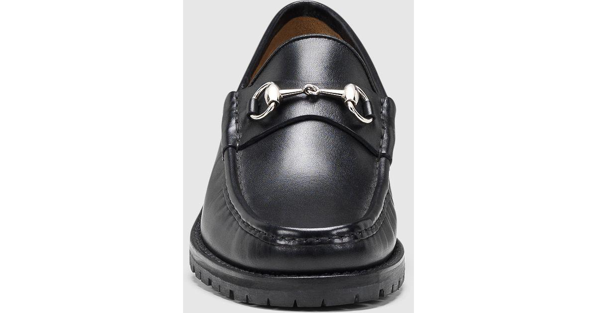 c71fea7ff09 Men s Gucci Horsebit Loafers Replica