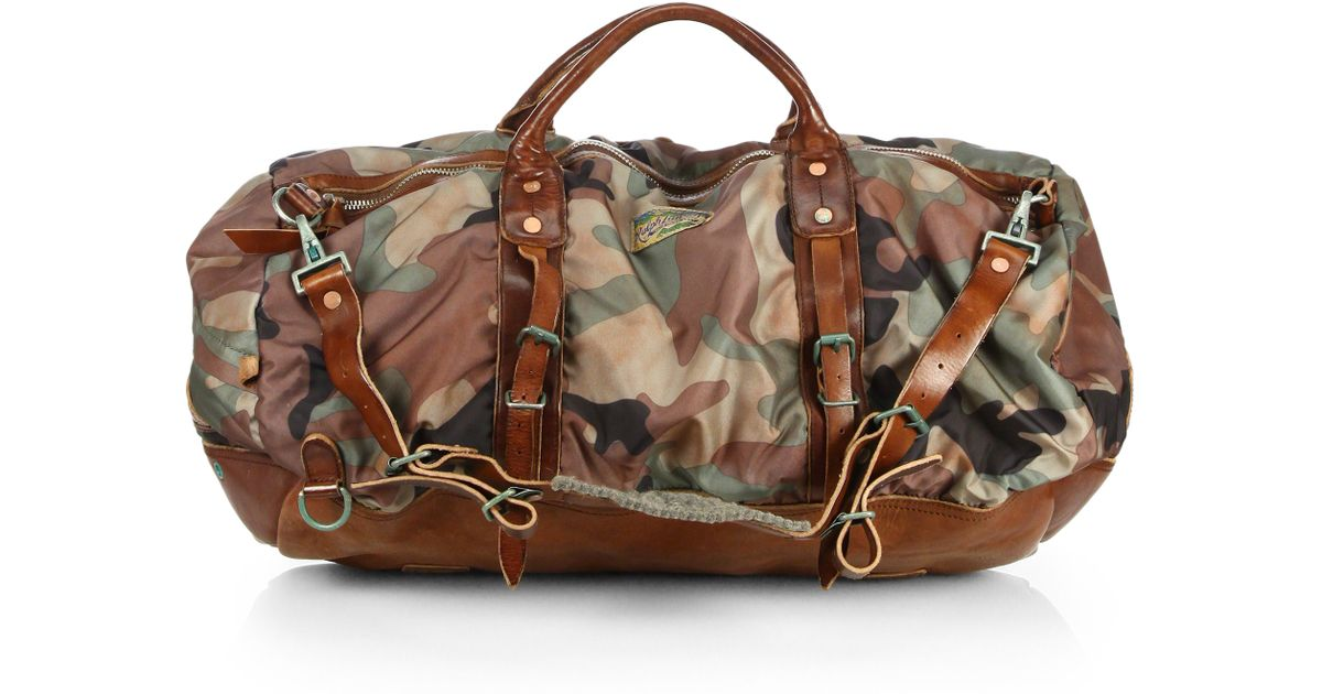 Lyst - Polo Ralph Lauren Yosemite Nylon Duffel Bag in Green for Men b82351df6f