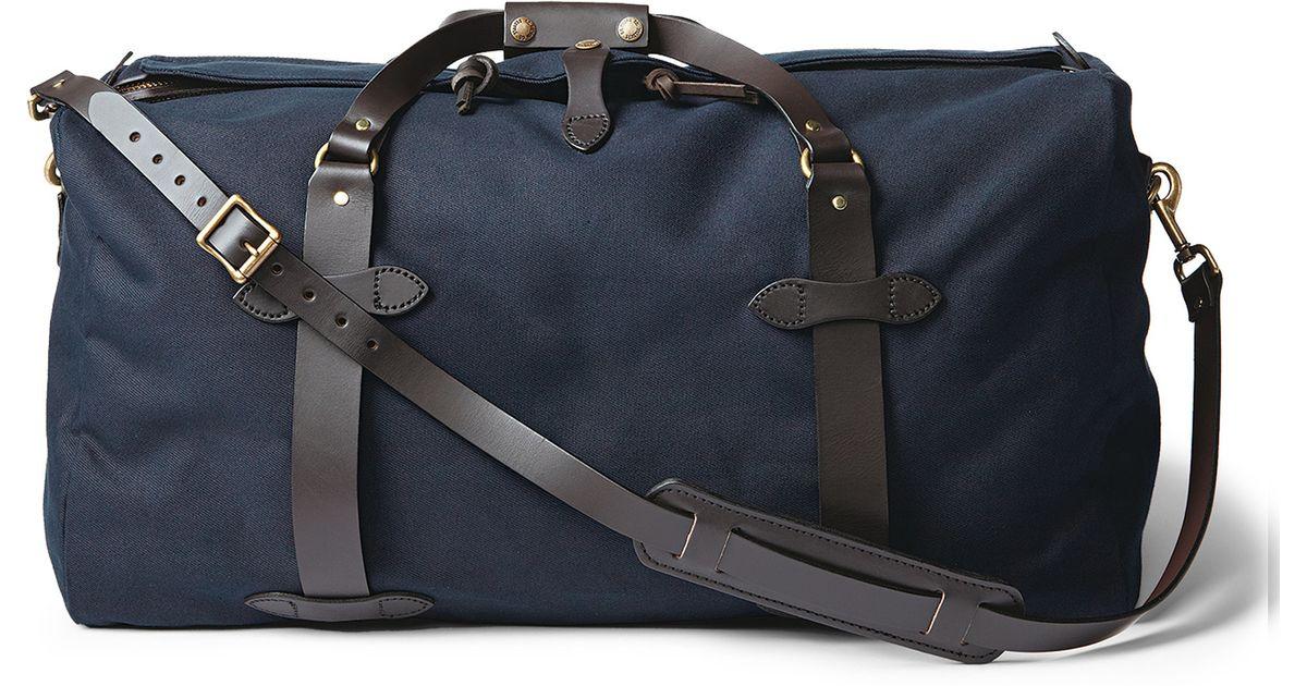 Filson Medium Duffle Bag In Blue For Men
