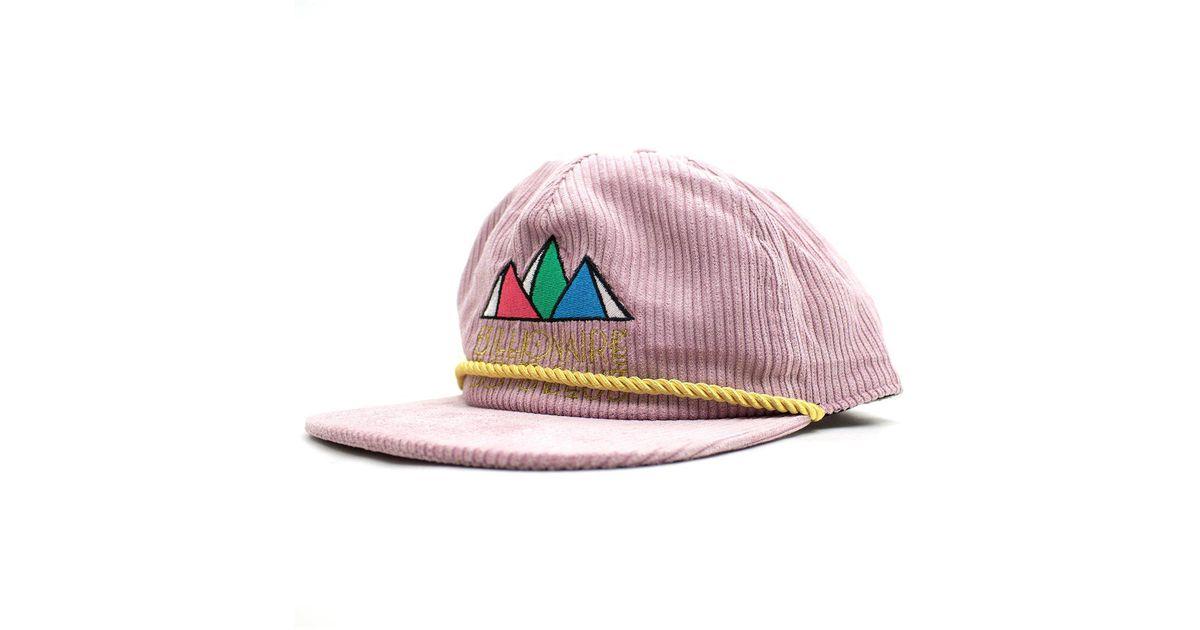 BBCICECREAM Pyramid Snapback in Pink for Men - Lyst 34c3dc45b99