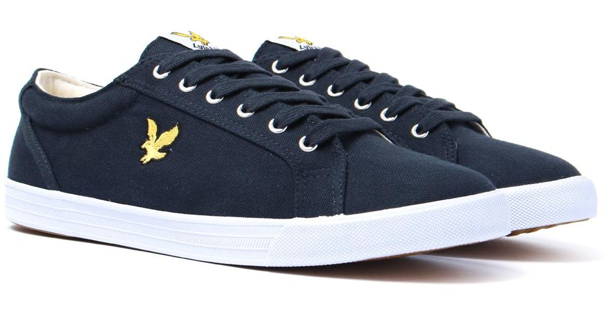 lyle and scott slip on shoes