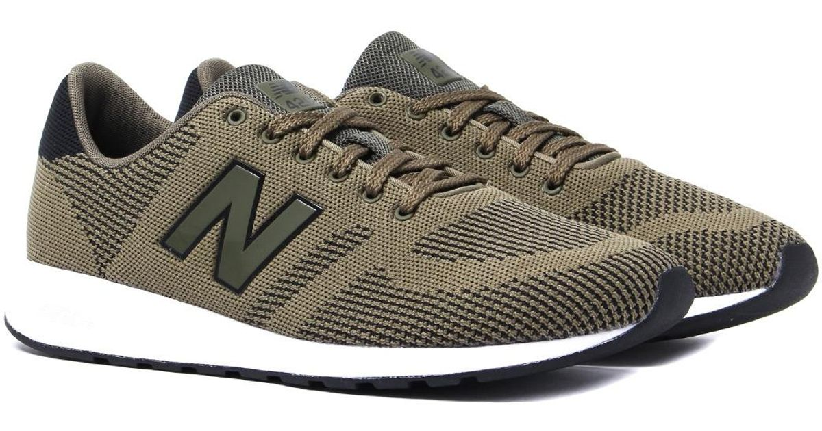 New Balance 420 Olive Green Trainers for men