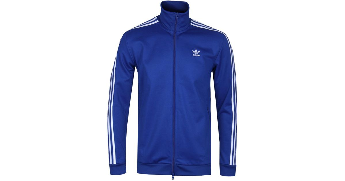 baf790a47f2 adidas Originals Royal Blue Beckenbauer Track Top in Blue for Men - Lyst