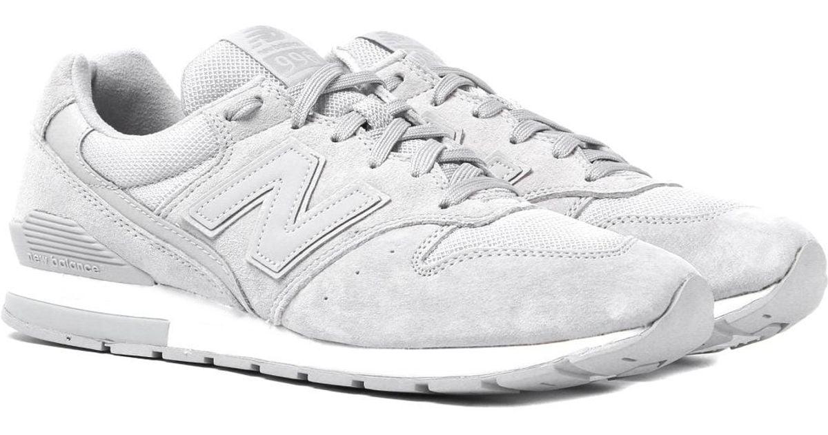 new balance grey 996 trainers