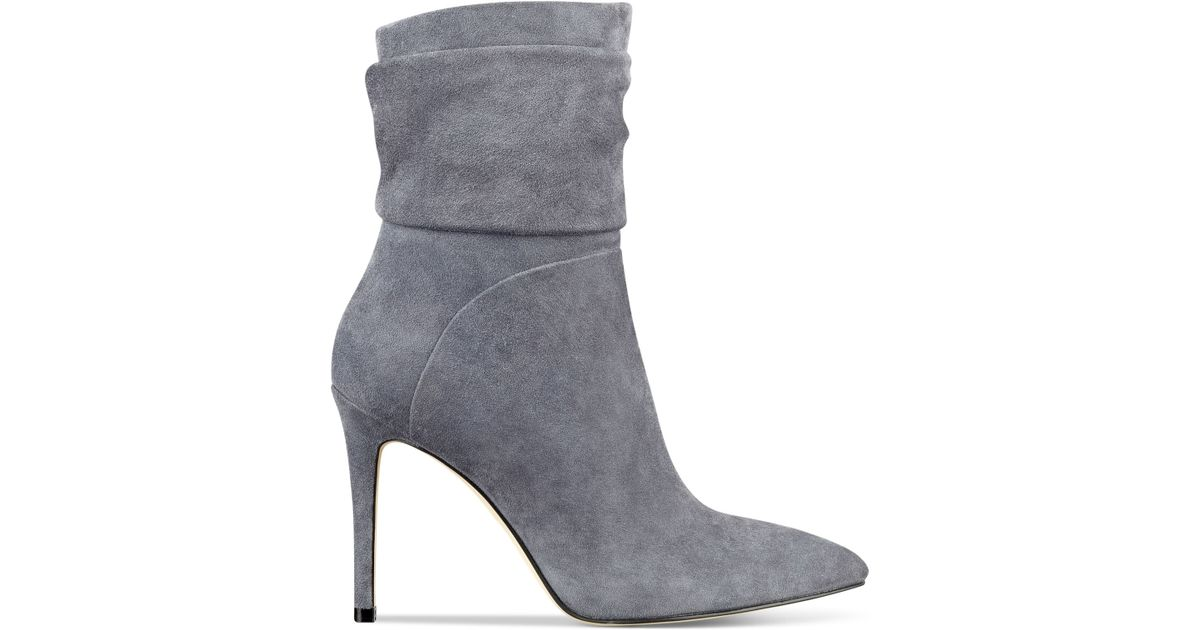 8c3f9c1dff48 Lyst - Guess Women s Vvidlet Dress Booties in Gray