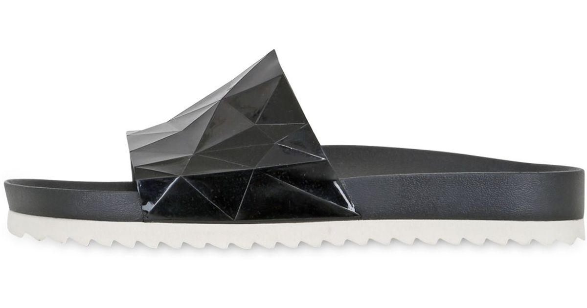 Lyst - United Nude Diamond Cut Silicone Sandals In Black For Men-8418
