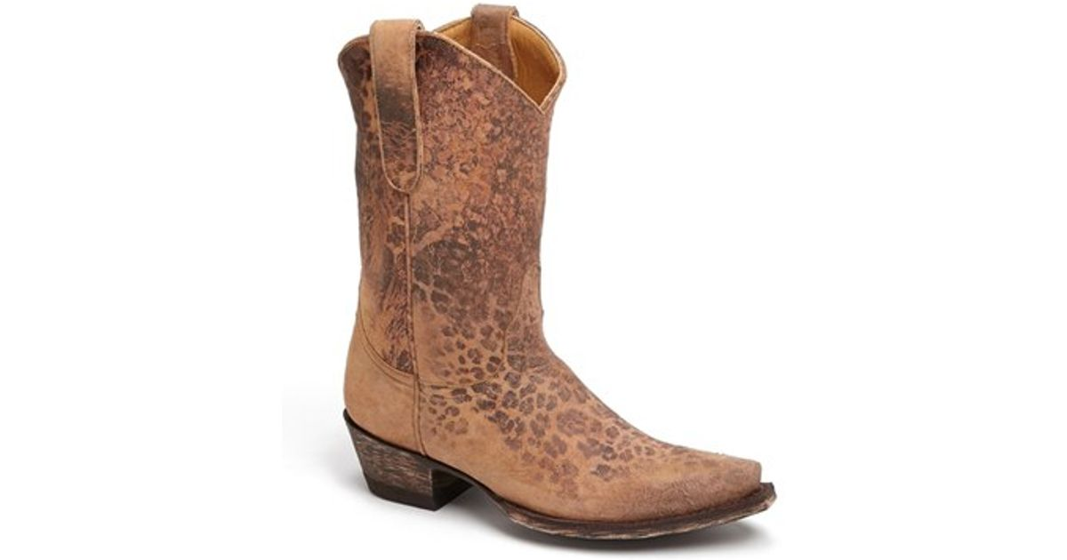 da97bab23f1 Old Gringo - Brown 'leopardito' Western Boot - Lyst