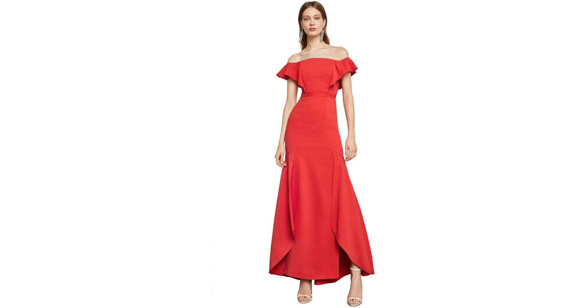 Colorful Bcbg Red Gown Pattern - Wedding Dresses From the Bridal ...