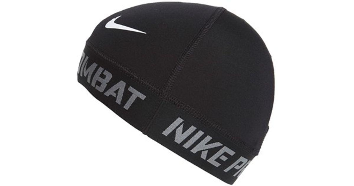 becadef273090 ... promo code for lyst nike pro combat skull cap in black for men 9308d  59db8