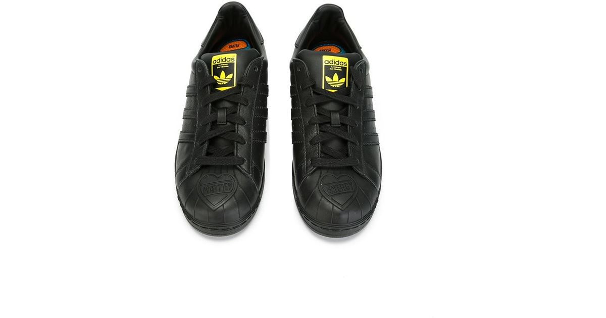 uk lyst adidas originals superstar pharrell supershell sneakers in black  5cb45 ebc53 dfe2f9b95