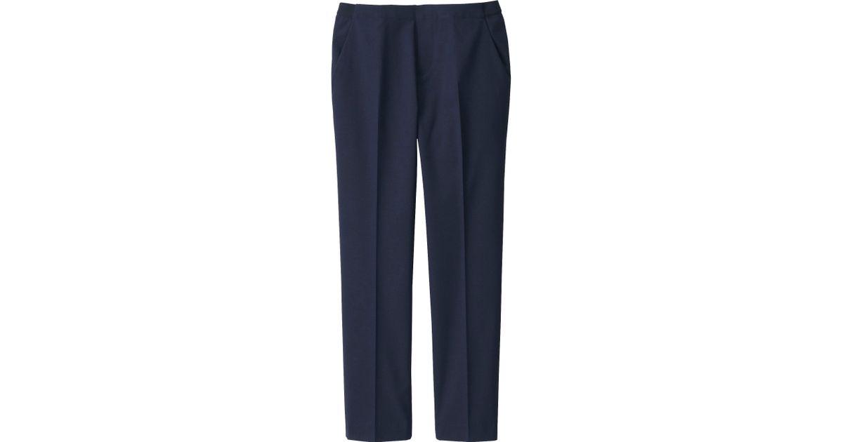Brilliant Uniqlo  Blue Women Ankle Length Pants  Lyst