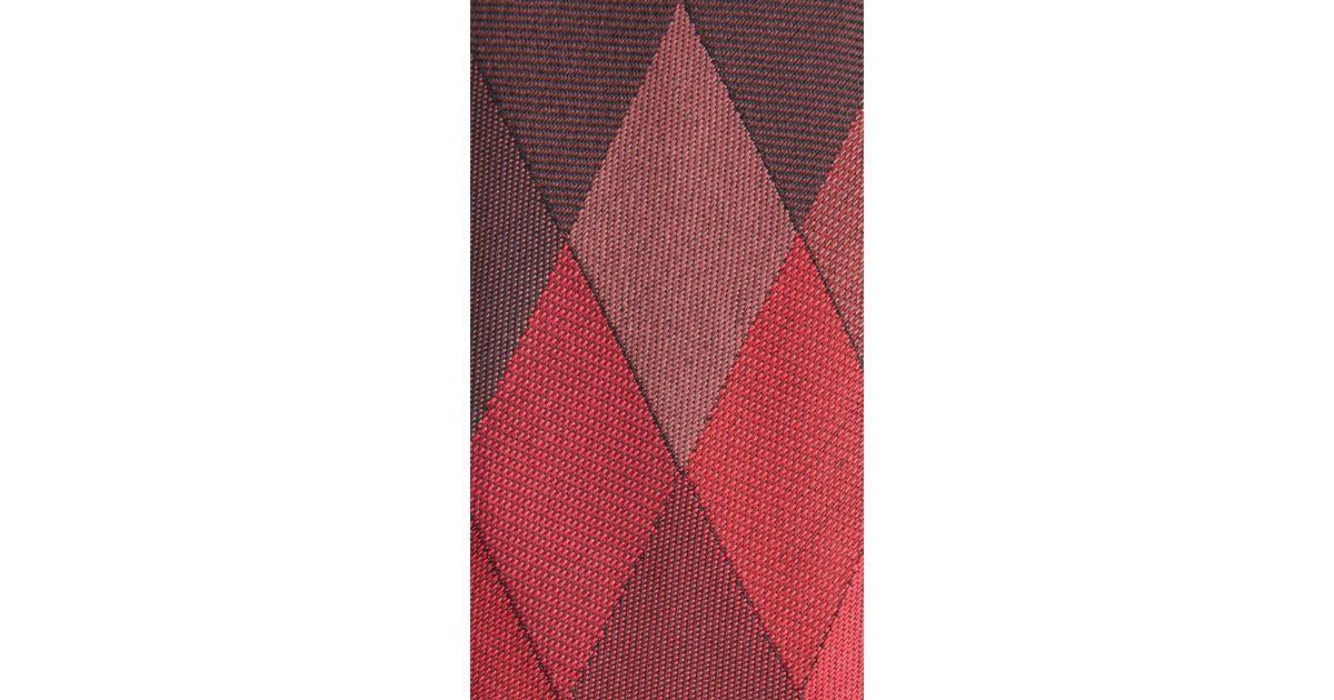 eee79cbb498a ... nova check silk manston silk tie 7d043 b15e0 sweden burberry diamond  silk twill tie in brown for men lyst 1367e 46e42 ...