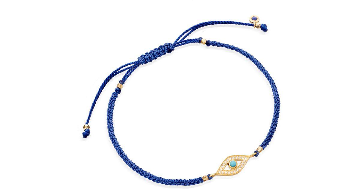 astley clarke blue evil eye biography bracelet in