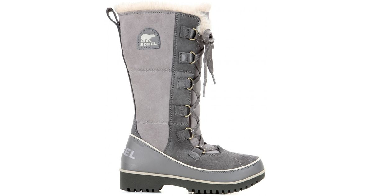 a2c5bddb8f8d9 Lyst - Sorel Tivoli High Ii Suede Boots in Gray