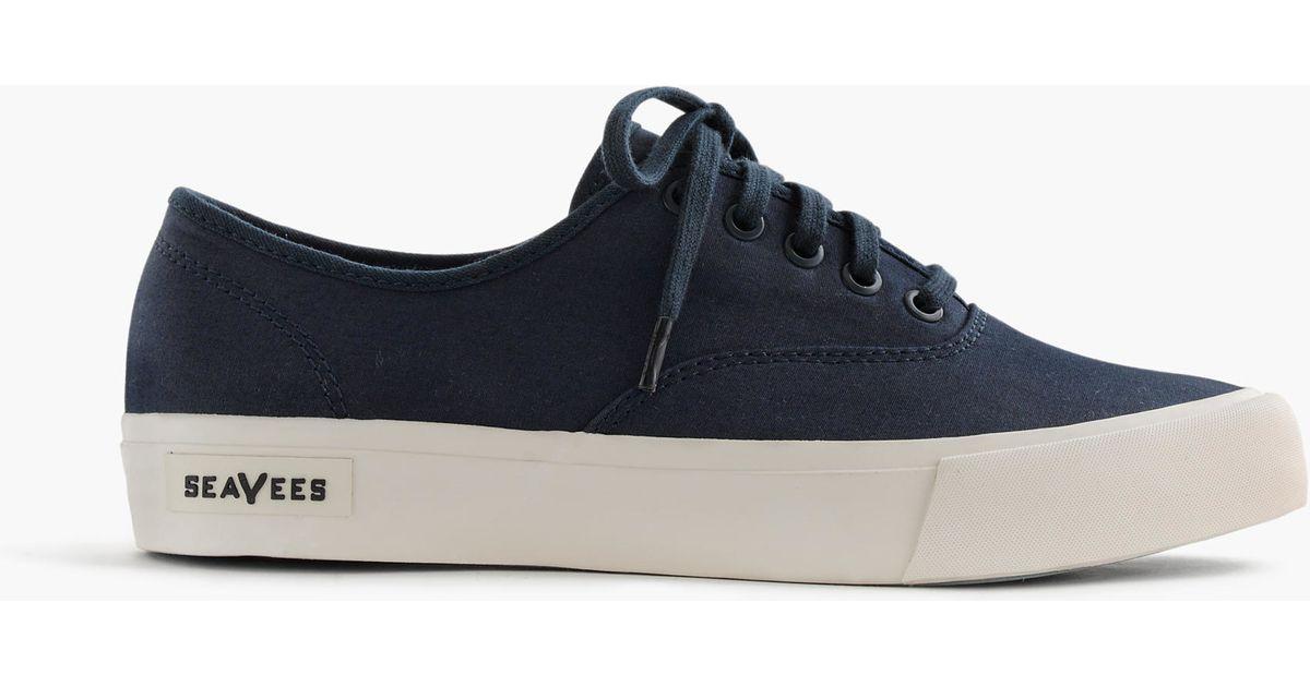 J Crew Seavees Legend Sneakers In Blue For Men Lyst