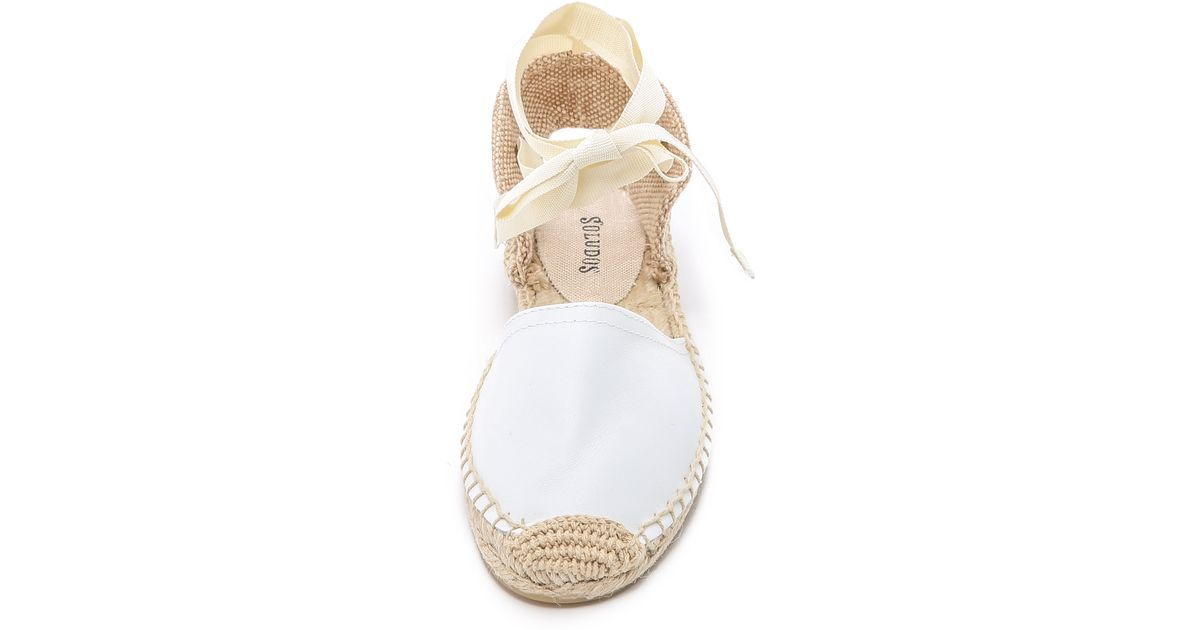 Soludos Leather Espadrille Sandals in