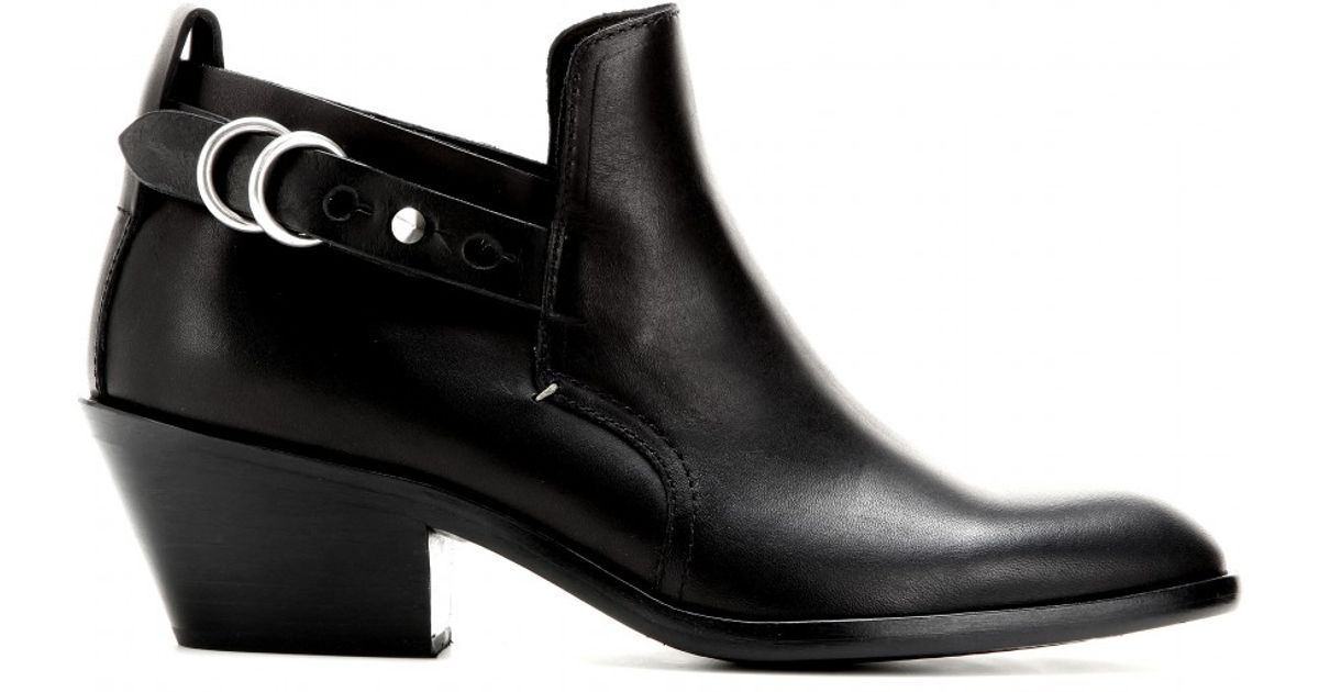 New And Fashion RAG&BONE Leather Ankle Boots In China Online Fast Delivery Cheap Online 2018 Unisex xftfm3