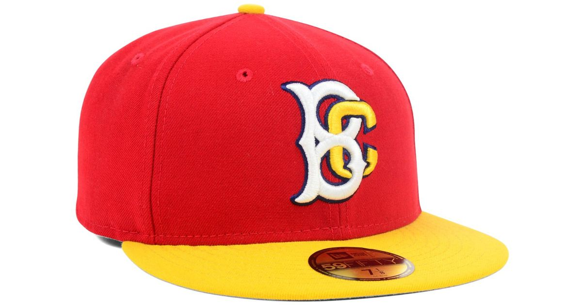 best authentic 47bfc 770bb KTZ Brooklyn Cyclones 59fifty Cap in Red for Men - Lyst