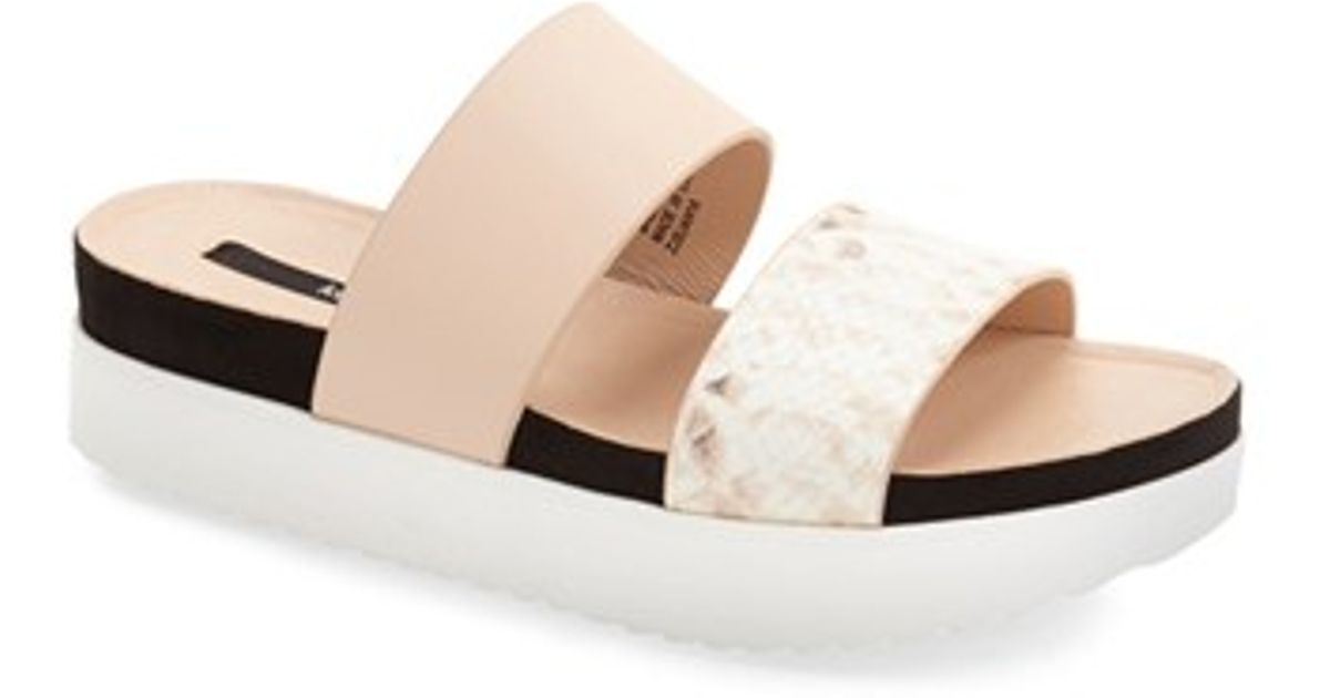88fa0bafae4c Kensie - Multicolor  boston  Flatform Sandal - Lyst