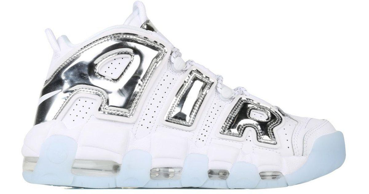 Lyst - Nike Women s Air More Uptempo in White ce600f2ffb