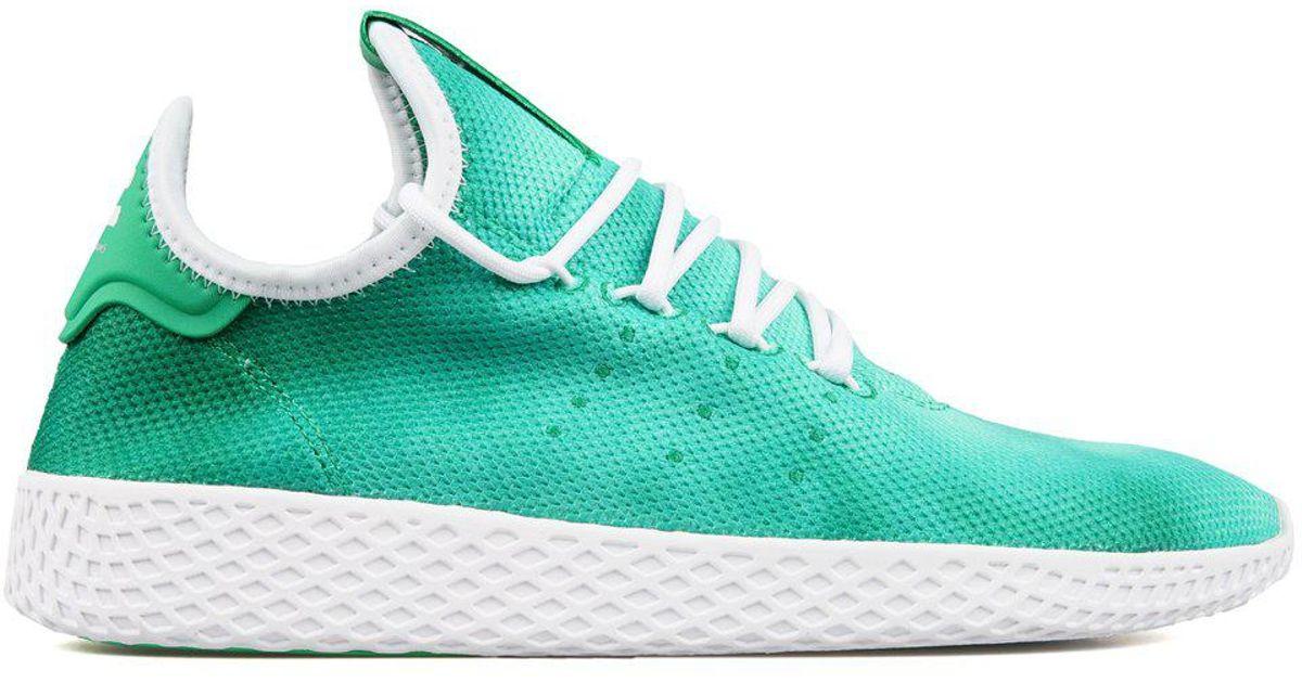 official photos 44c08 94564 Lyst - Adidas Pharrell Williams Holi Tennis Hu in Green for Men