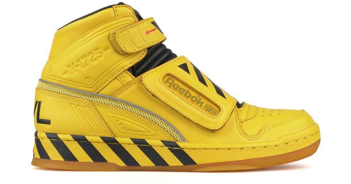 ff18786c3b1b40 Lyst - Reebok Alien Stomper Mid Pack in Yellow for Men